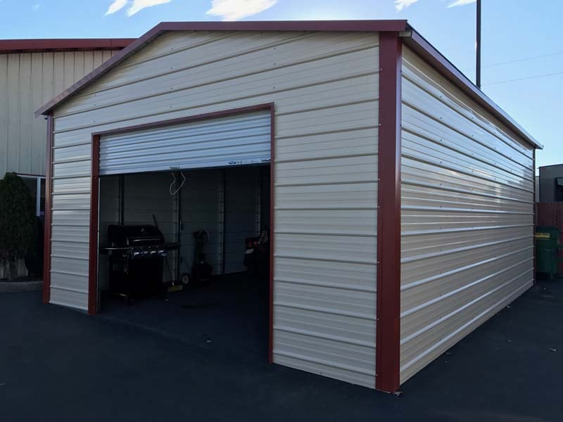 Outdoor Storage Shed - JAW Portable Buildings