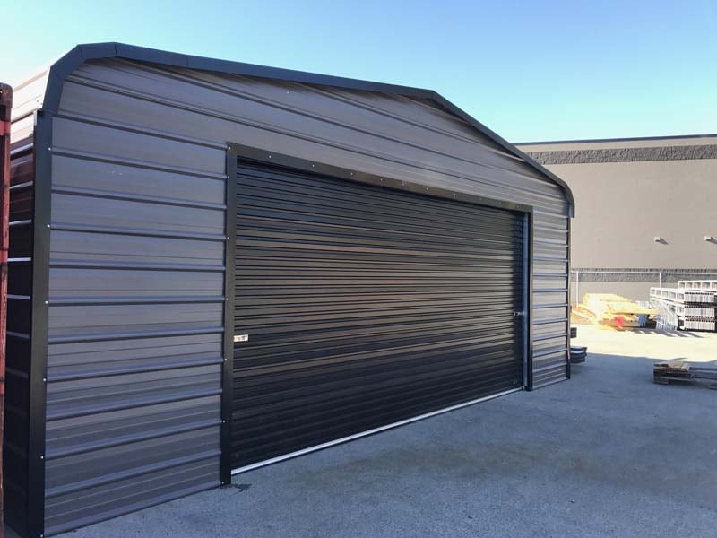 Metal Portable Garage - JAW Portable Buildings
