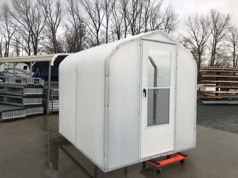 Metal Portable Trailer - JAW Portable Buildings