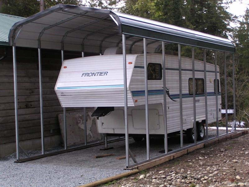 RV Carport - JAW Portable Buildings