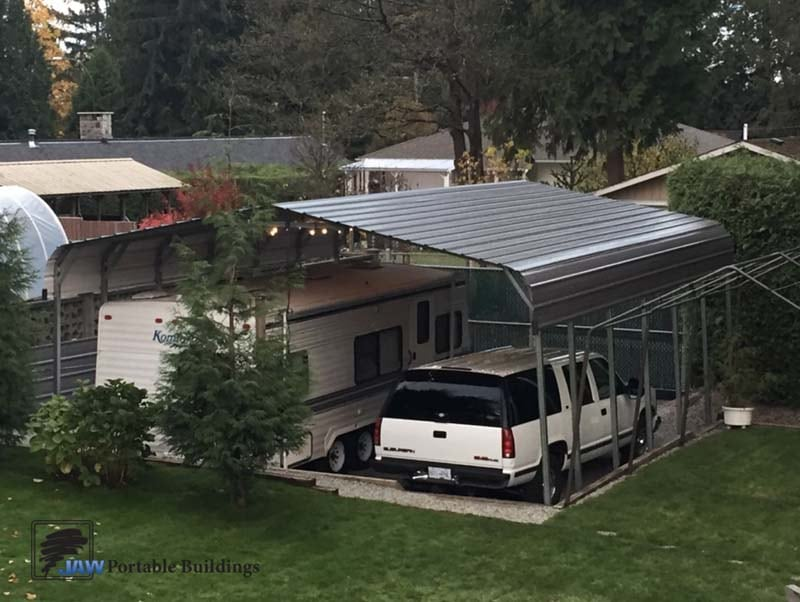 Portable Carports Garage - JAW Portable Buildings