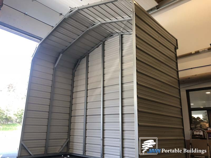 Garage Metal Siding Ideas - JAW Portable Buildings