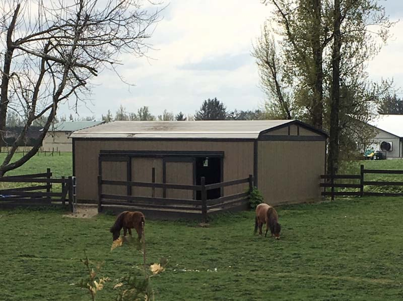 Grazing Storage Shelters - JAW Portable Buildings