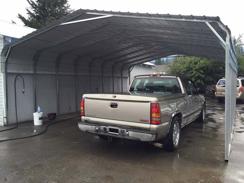 Metal Carports - JAW Portable Buildings