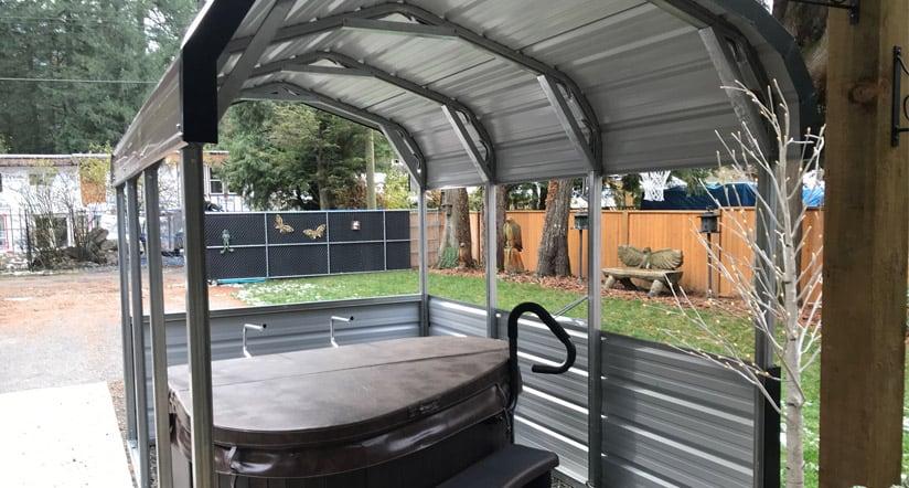 Custom Portable Metal Buildings, Storage Shelters & Carports