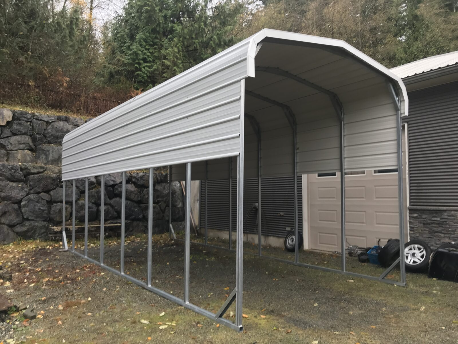 Portable Metal Building - JAW Portable Buildings