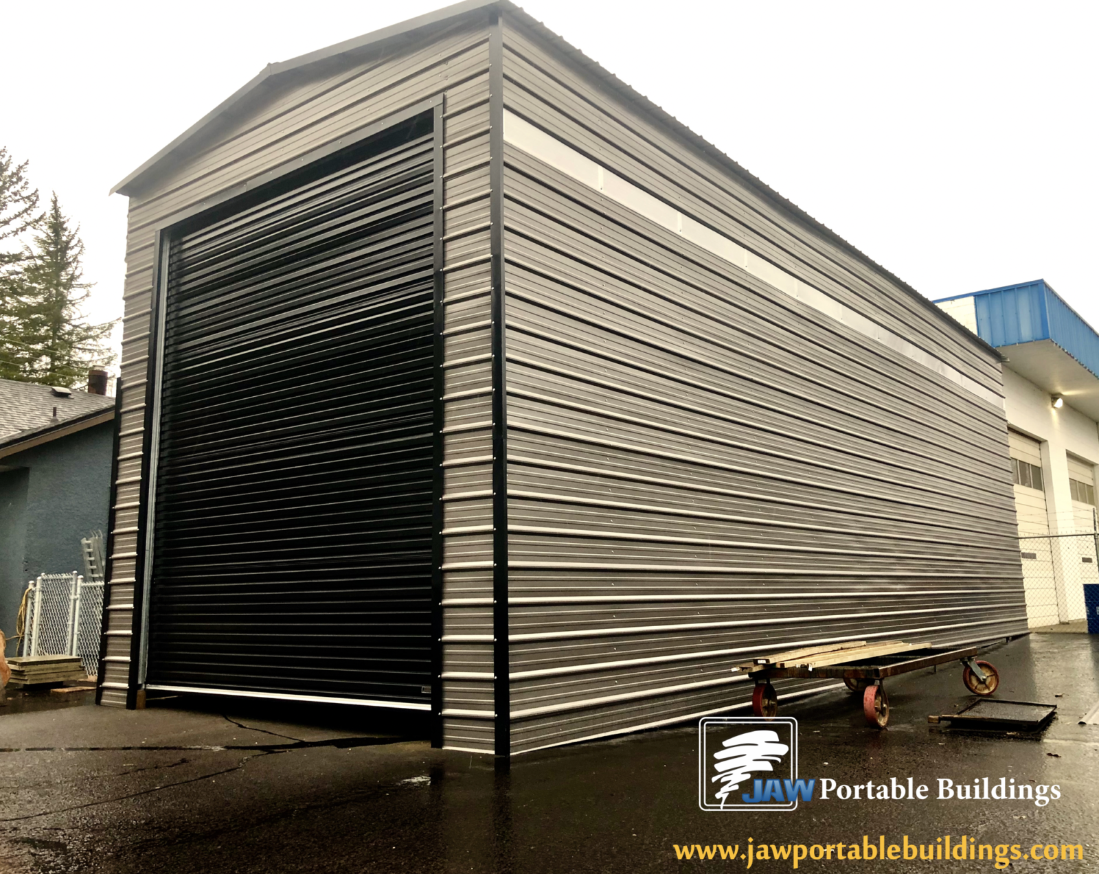 Modern Metal Carports Garages - JAW Portable Buildings